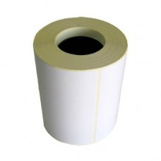 Полуглянцевая этикетка 100х80 мм